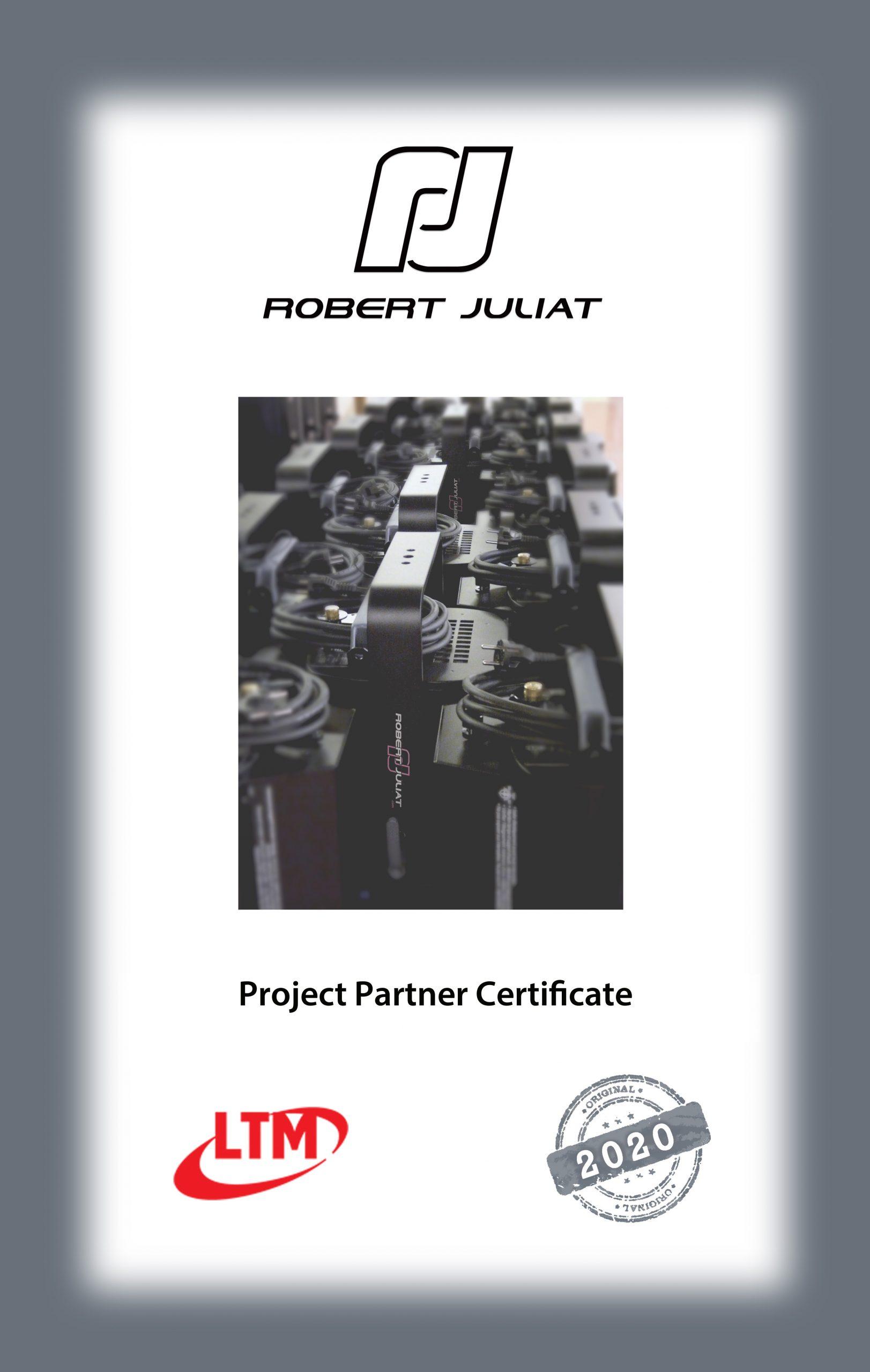 ROBERT JULIAT ProjectPartner-Export_Certificate_2020