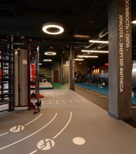 новость Инсталляционное решение для фитнес-клуба