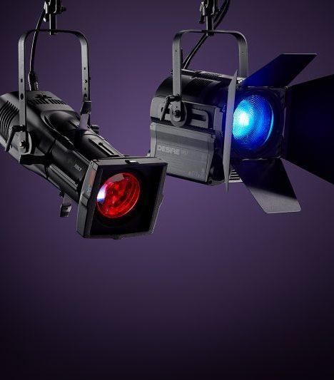 новость ETC представляет два новых театральных прожектора